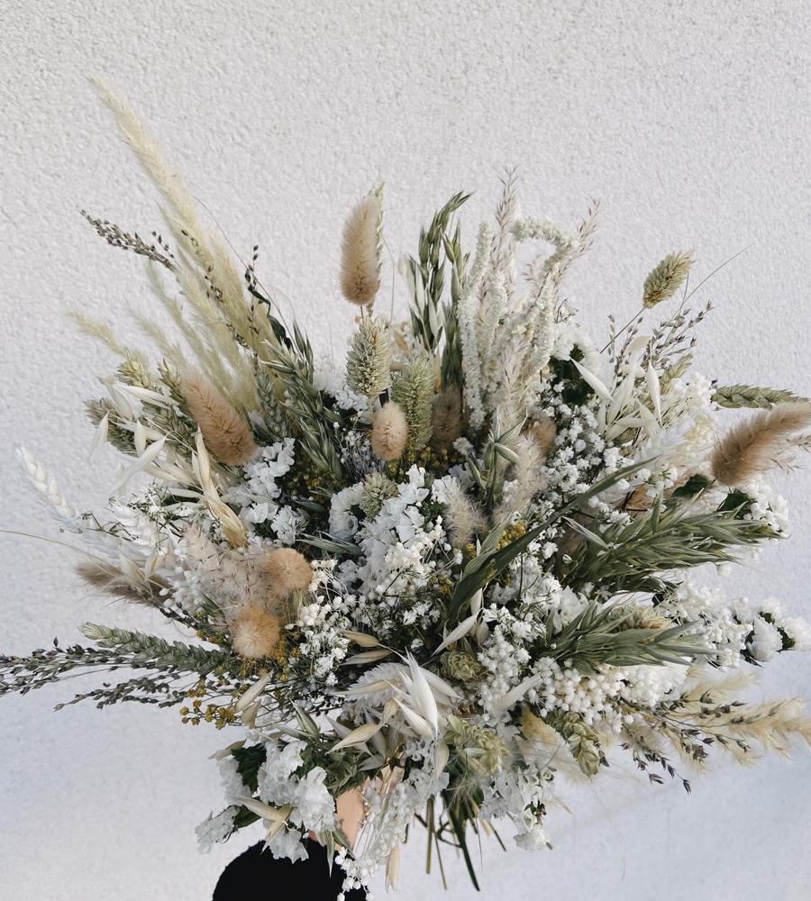 Vente Bouquet Fleurs Sechees Nude Boutique En Ligne Fleuriste