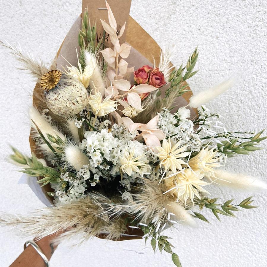 Flocon Bouquet fleurs séchées